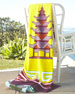 Luxembourg Pagoda Beach Towel