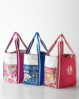 Vera Bradley Personalized Large Colorblock Tote