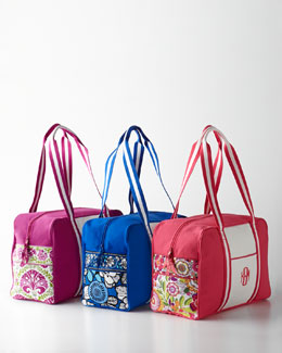 Vera Bradley Personalized Colorblock Duffel