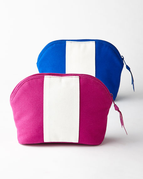 Personalized Colorblock Cosmetic Case