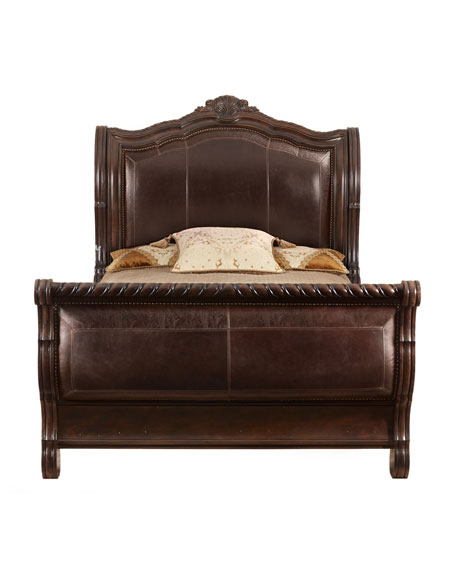 Colette California King Sleigh Bed