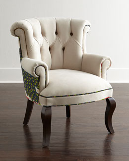Haute House Cream Peacock Chair