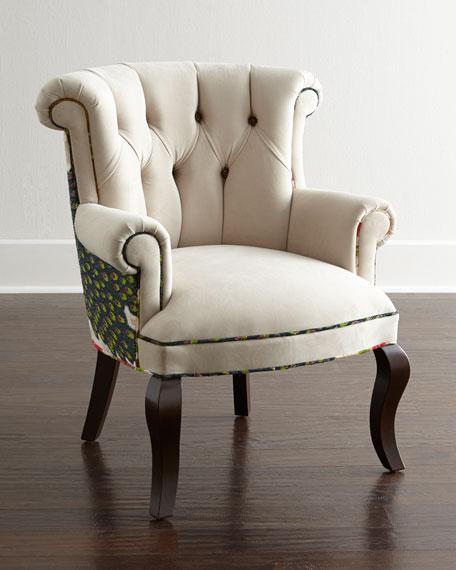 Haute House Cream Peacock Chair