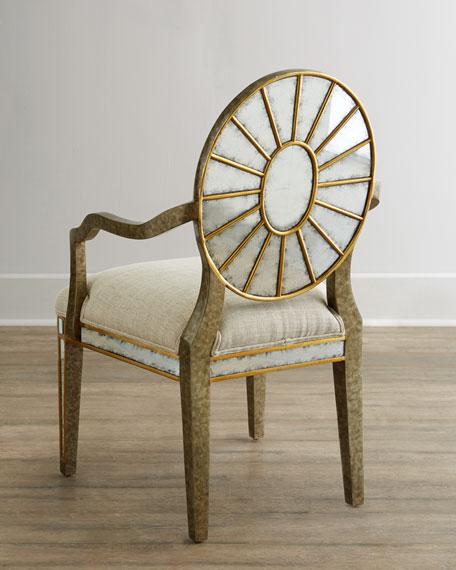 Lela Eglomise Armchair