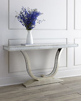 John-Richard Collection Lencioni Mirrored Console