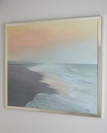 """Into the Light"" Seascape Giclee Print on Canvas Art"