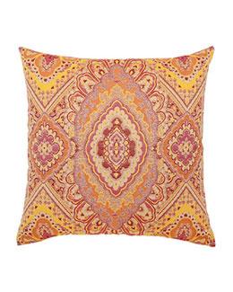 ELAINE SMITH Sorbet Medallion Pillow