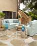 Elena Curved Outdoor Sofa