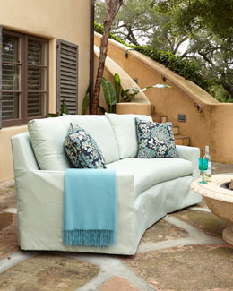 LANE VENTURE Elena Curved Outdoor Sofa