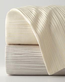 Reflection Full/Queen Jacquard Stripe Duvet Cover, 92