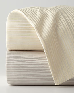 Reflection King Jacquard Stripe Duvet Cover, 108