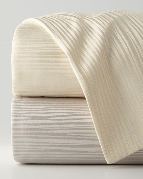 Reflection King Jacquard Stripe Duvet Cover