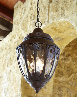 ELLINGTON/LITEX Scandia Outdoor Lantern Pendant Light