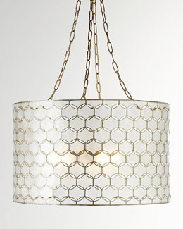 Felicity Capiz Three-Light Pendant