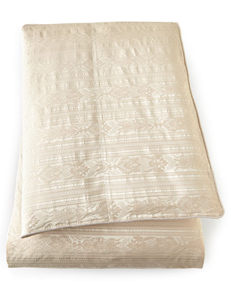 King Le Creme Maison Stripe Duvet Cover