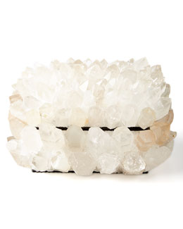 Kathryn McCoy Design Clear Quartz Box