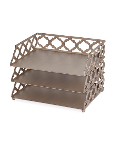 Ogee-G Three-Tiered Stacker Tray
