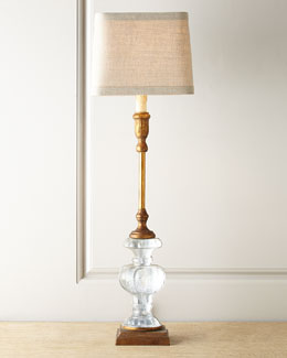 Regina-Andrew Design Parisian glass buffet lamp