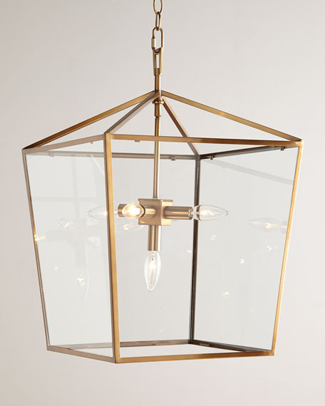 camden 5 light lantern lighting pendants