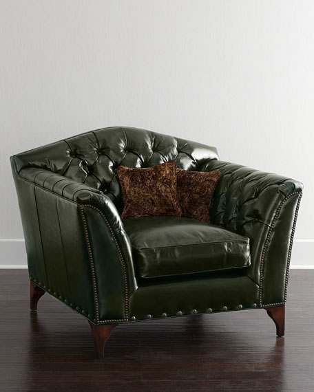 Liberty Creek Collection Leather Club Chair
