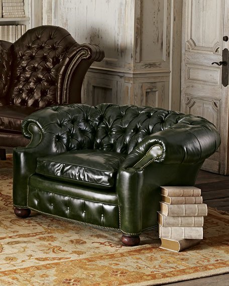 Good Liberty Creek Collection Leather Pub Chair