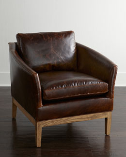 Lee Industries Hambert Leather Chair