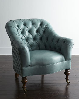 Old Hickory Tannery Sutton Leather Chair