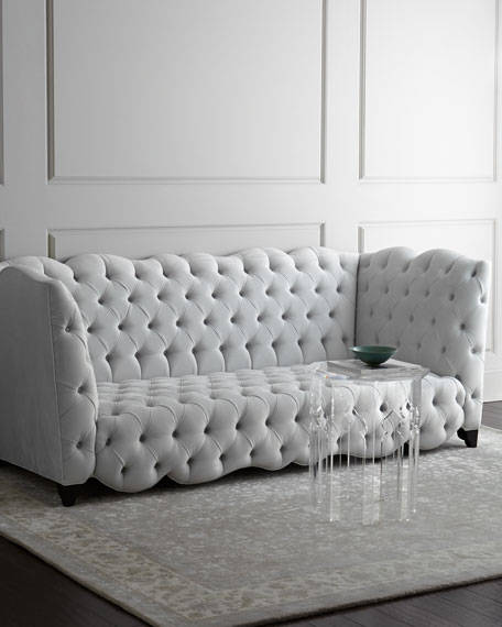 Arabella Tufted Sofa 92""