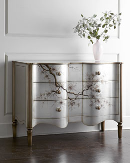 John-Richard Collection Portobello Serpentine Chest