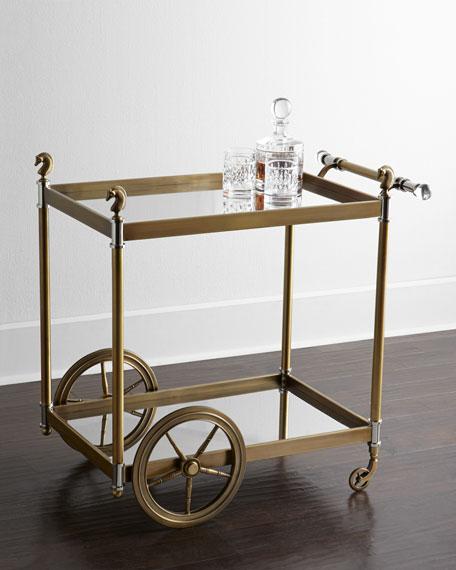 Jacques Bar Cart