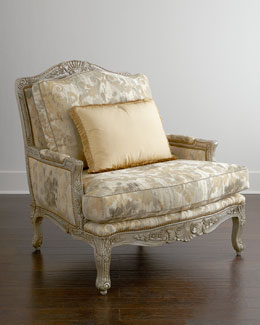 Massoud Jewel Bergere Chair