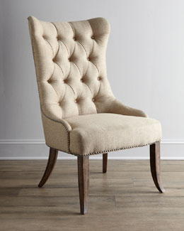 Two Donabella Tufted Chairs