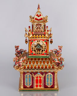 Jay Strongwater Large Triple Pagoda Box