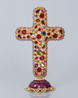 Theresa Bejeweled Cross