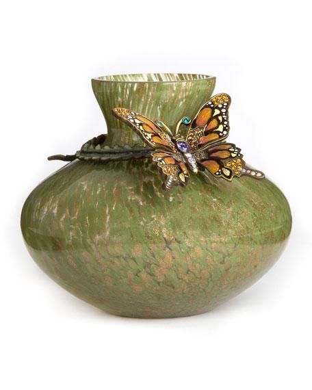 Lorelei Butterfly Vase