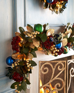 Holiday Royale 6' Christmas Garland