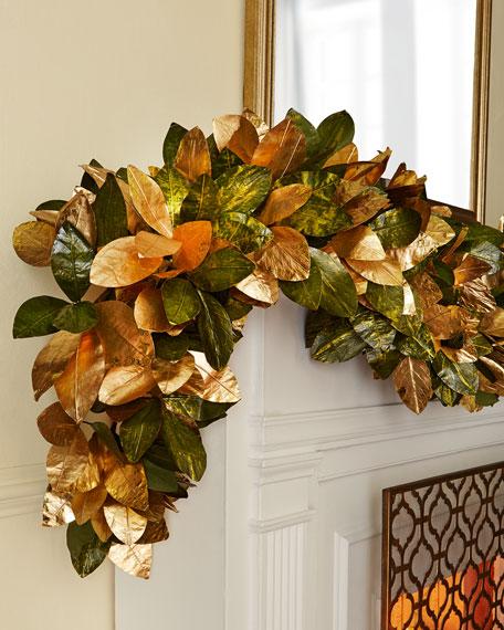 Magnolia Leaf 6' Garland