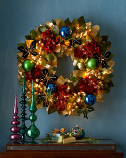 "Holiday Royale 28"" Christmas Wreath"