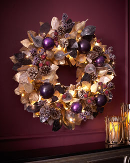 "Sugarplum Chic 28"" Wreath"