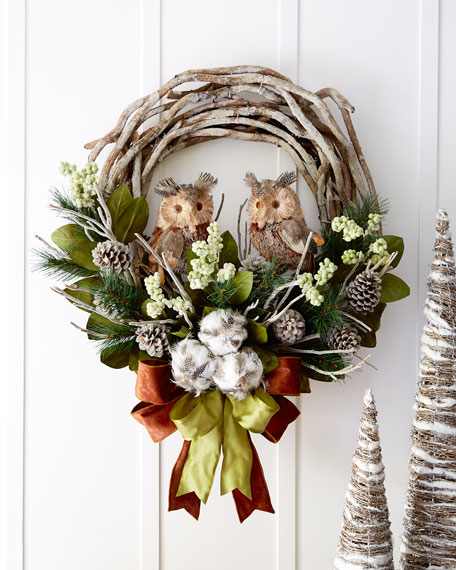 woodland 28 christmas wreath
