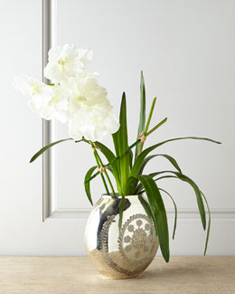 John-Richard Collection Vanda Reflections Faux Floral Arrangement