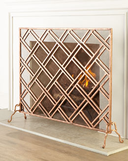 Layla Fireplace Screen