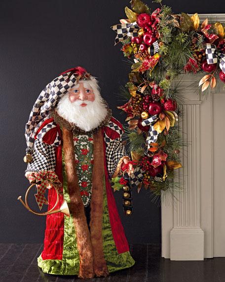 Mackenzie Childs Medici Santa