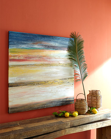 """Blushing Beach"" Painting"