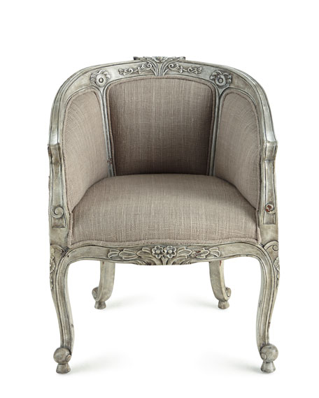 Linden Petite Barrel Chair