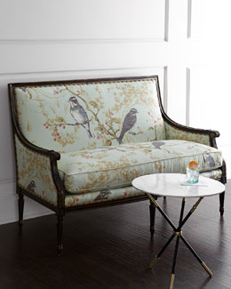 Massoud Bird Vines Settee
