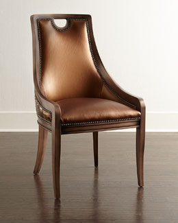 Old Hickory Tannery Arcady Leather Dining Chair