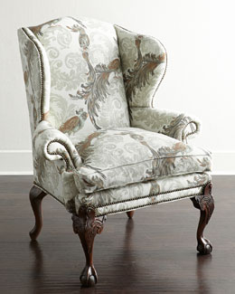 Old Hickory Tannery Marbury Wing Chair