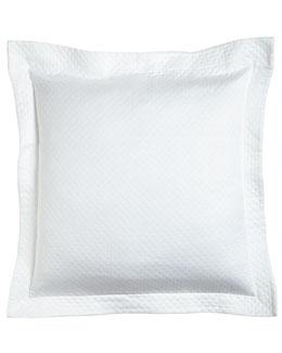 European White Diamond-Pique Sham