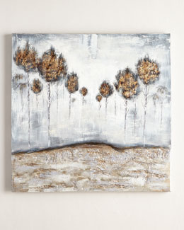 Iced Trees Painting